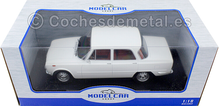 1974 Alfa Romeo Giulia Nuova Super 1600 Blanco 1:18 MC Group 18146