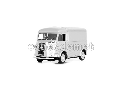 1962 - CITROEN HY FURGON Gris Metalizado (NR180006). Cochesdemetal.es