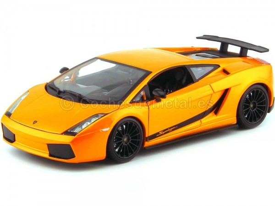 2007 Lamborghini Gallardo Superleggera Naranja 1:18 Maisto 31149 Cochesdemetal.es