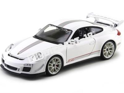 2012 Porsche 911 GT3 RS 4.0 Blanco Metalizado Bburago 11036