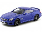 2013 Mercedes-Benz SL 63 AMG Hard Top Azul Metalizado 1:18 Maisto 36199