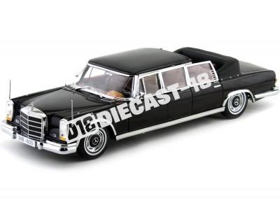 1966 Mercedes-Benz 600 Landaulet Negro Metalizado Sun Star 2302
