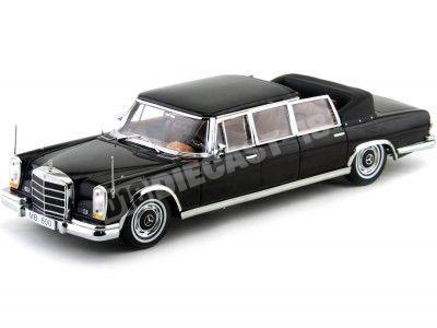 1966 Mercedes-Benz 600 Landaulet Negro Metalizado 1:18 Sun Star 2302 Cochesdemetal.es