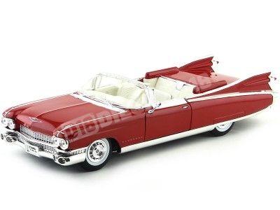 1959 Cadillac Eldorado Biarritz Rojo 1:18 Maisto 36813 Cochesdemetal.es