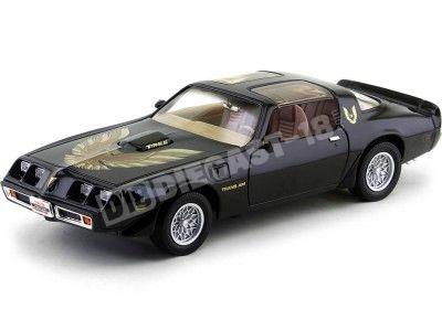 1979 Pontiac Firebird Trans AM Negro Metalizado 1:18 Lucky Diecast 92378 Cochesdemetal.es