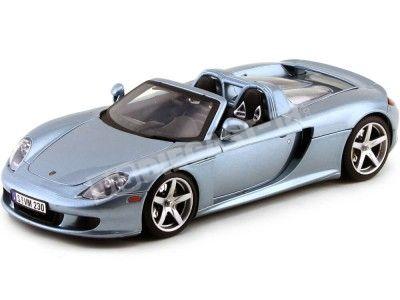 2003 Posche Carrera GT Gris 1:18 Motor Max 73163 Cochesdemetal.es