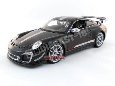 2012 Porsche 911 GT3 RS 4.0 Negro Metalizado Bburago 11036 Cochesdemetal.es