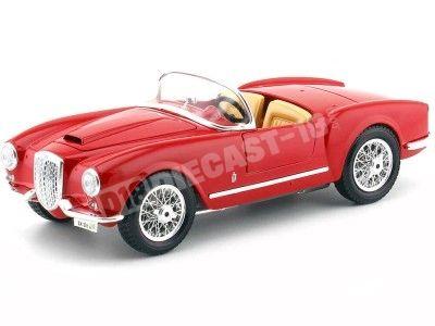 1955 Lancia Aurelia B24 Spider Rojo 1:18 Bburago 12048 Cochesdemetal.es