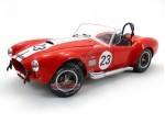 1965 Shelby AC Cobra 427 MKII #23 Rojo 1:18 Solido 1850010