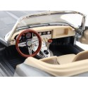 "1961 Jaguar Type ""E"" Cabriolet Gris Metalizado 1:18 Bburago 12046 Cochesdemetal.es"