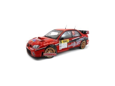 "2009 Subaru Impreza WRC07 ""RACC Rally Catalunya"" 1:18 Sun Star 4480 Cochesdemetal.es"