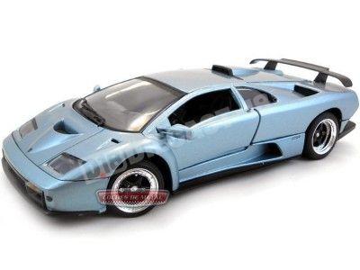 1999 Lamborghini Diablo GT V12 Azul 1:18 Motor MAX 73168 Cochesdemetal.es
