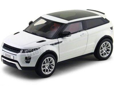 2012 Land Rover Range Rover Evoque Blanco 1:18 GT Autos 11003 Cochesdemetal.es