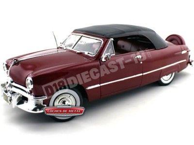 1950 Ford Cerrado Techo Blando Granate 1:18 Maisto 31681 Cochesdemetal.es