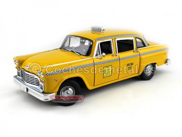 "1977 Checker Taxi ""The TV Series Friends"" Amarillo Greenlight 12887 Cochesdemetal.es"