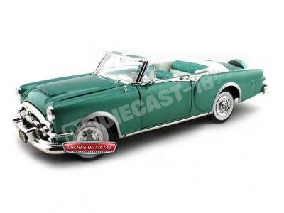 1953 Packard Caribbean Verde 1:18 Lucky Diecast 92798 Cochesdemetal.es