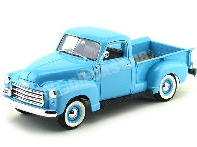 1950 GMC 150 Pick-Up Azul 1:18 Lucky Diecast 92648 Cochesdemetal.es