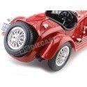1930 Alfa Romeo 8C 2300 Spider Touring Rojo 1:18 Bburago 12063 Cochesdemetal.es