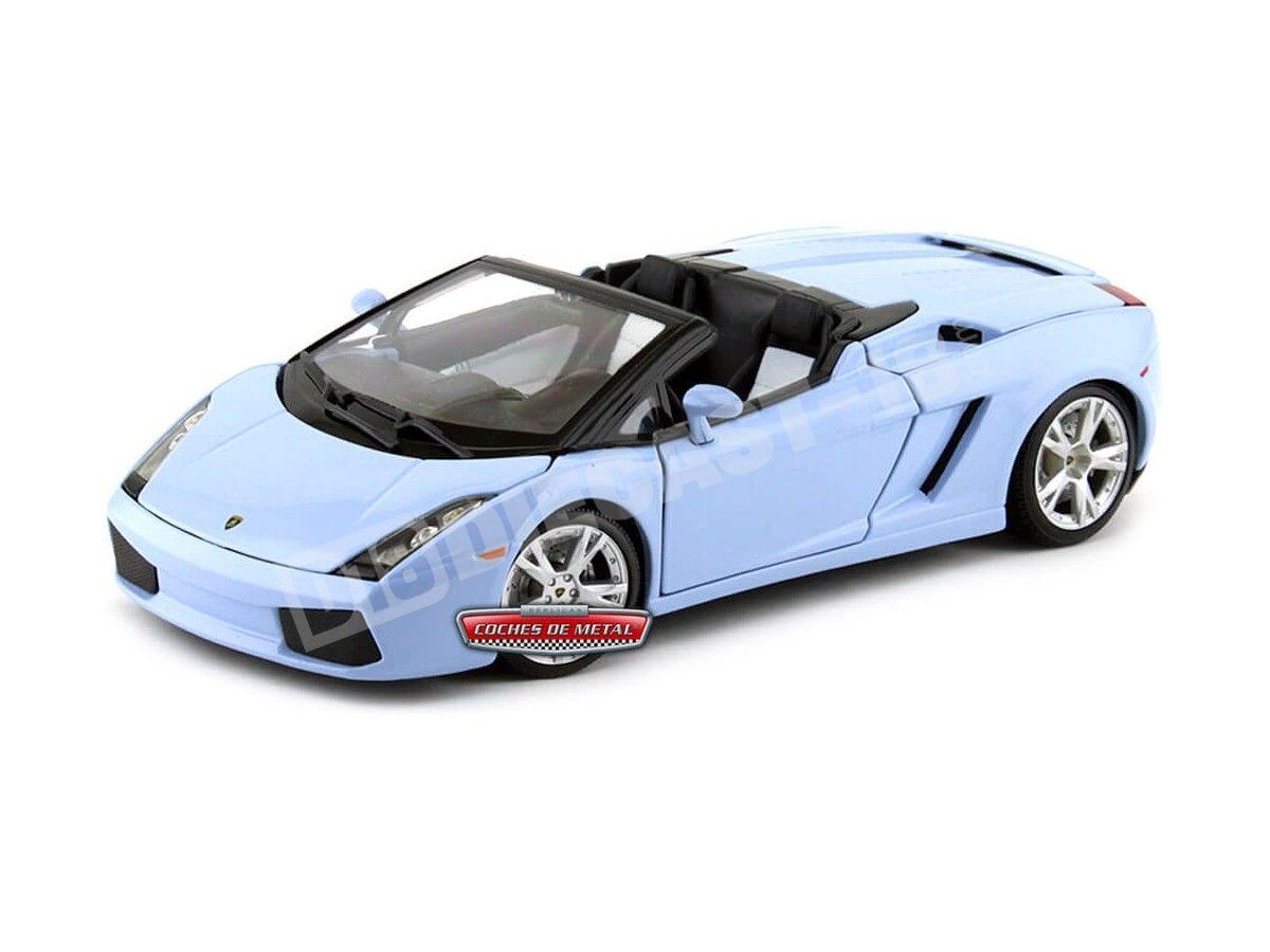 2000 Lamborghini Gallardo Spyder Azul Cielo 1:18 Maisto 31136 Cochesdemetal.es
