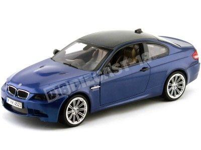 2007.- BMW M3 E92 COUPE Azul Metalizado Motor Max 73182BL