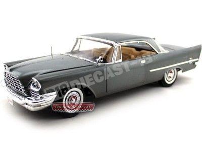1957 Chrysler 300C HT Grunmetal Grey 1:18 Auto World AMM1005 Cochesdemetal.es