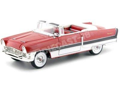 1955 Packard Caribbean Convertible Rojo 1:18 Lucky Diecast 92618 Cochesdemetal.es