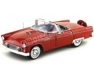 1956 Ford Thunderbird Convertible Rojo Motor Max 73173 Cochesdemetal.es