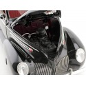 1939 Lincoln Zephyr Convertible Coupe Negro 1:18 Signature Models 18102 Cochesdemetal.es