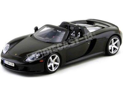 2003 Posche Carrera GT Negro 1:18 Motor Max 73163 Cochesdemetal.es