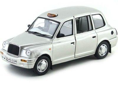 1998 Austin TX1 London Taxi Cab Platinum Silver 1:18 Sun Star 1125 Cochesdemetal.es