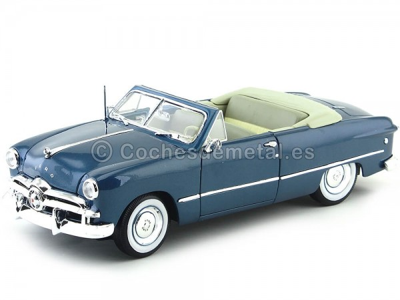 1949 Ford Convertible Azul 1:18 Maisto 31682 Cochesdemetal.es