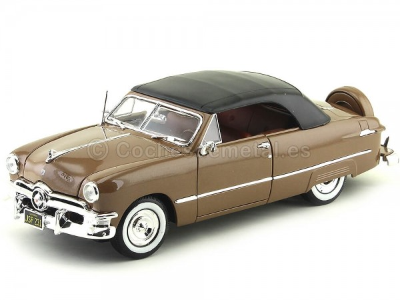 1950 Ford Cerrado Techo Blando Marron 1:18 Maisto 31681 Cochesdemetal.es