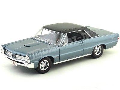 1965 Pontiac GTO Hurs Edition Azul 1:18 Maisto 31885 Cochesdemetal.es