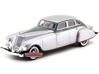 """1933 Pierce Arrow Silver Arrow """"Flecha de Plata"""" 1:18 Signature Models 18136 Cochesdemetal.es"""