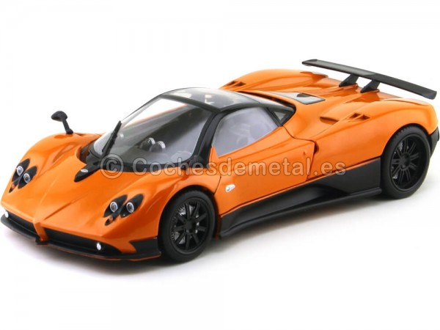 2008 Pagani Zonda F Naranja 1:18 Motor Max 79159 Cochesdemetal.es