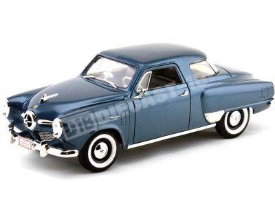 1950 Studebaker Champion Azul Metalizado 1:18 Lucky Diecast 92478 Cochesdemetal.es