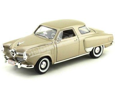 1950 Studebaker Champion Gold Metallic 1:18 Lucky Diecast 92478 Cochesdemetal.es