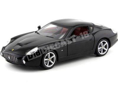 2006 Ferrari 575 GTZ Zagato Negro 1:18 Hot Wheels P9888 Cochesdemetal.es