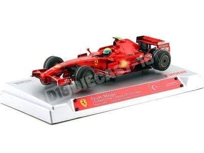 """2008 Ferrari F2008 """"Felipe Massa"""" Turkish GP 1:18 Hot Wheels Elite M0550 Cochesdemetal.es"""
