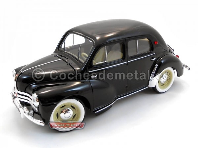 1954 - RENAULT 4 CV BERLINE Negro (NR180009). Cochesdemetal.es