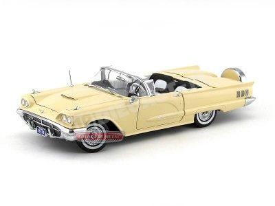 1960 Ford Thunderbird Open Convertible Tawney Beige Sun Star 4316 Cochesdemetal.es