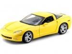 2005 Chevrolet Corvette C6 Amarillo 1:18 Maisto 31117
