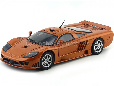 2004 Saleen S7 Naranja Metalizado Motor Max 73117