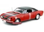 1968 Chevrolet Camaro Z-28 Coupe Rojo Maisto 31685