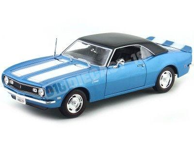 1968 Chevrolet Camaro Z-28 Coupe Azul 1:18 Maisto 31685 Cochesdemetal.es