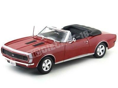 1967 Chevrolet Camaro SS 396 Convertible Rojo 1:18 Maisto 31684 Cochesdemetal.es