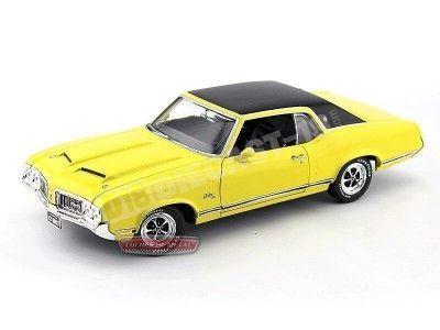 1970 Oldsmobile Cutlass SX Rally Yellow Auto World AMM996 Cochesdemetal.es
