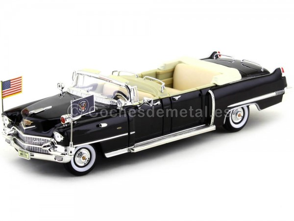 1956 Cadillac Presidential Parade Car Limousine 1:24 Lucky Diecast 24038 Cochesdemetal.es
