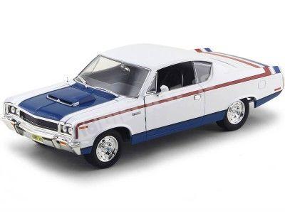 1970 AMC Rebel Machine Blanco Yat Ming 92778
