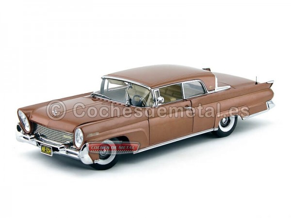 1958 Lincoln Continental Mark III Hard Top Copper Poly 1:18 Sun Star 4713 Cochesdemetal.es